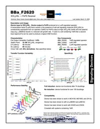 Sample datasheet for BBa_F2620. By Ania Labno, Barry Canton and Drew Endy.