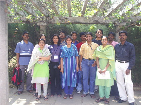 Left to Right: Kalidas, Mansi, Nilofar, Banaja, Arjun, Nagasuma Chandra, Nathan, Prabhu, Karthik, Suhas, Sharmila, Nirmal and Justin