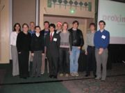 not actually our team! (Luc at IBE 2006 synthetic biology session)