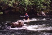 ~2001, paddling the Mokelume somewhere in CA