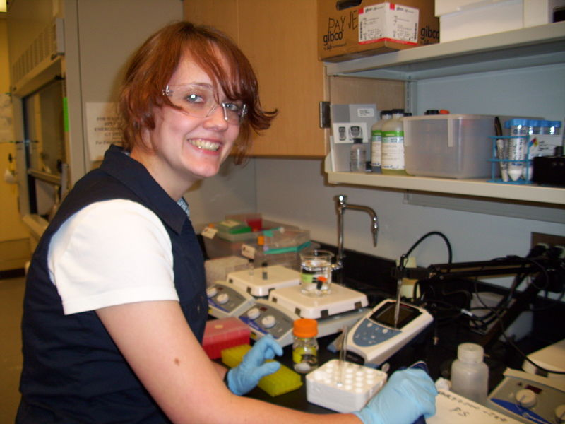 Image:Payne Lab People ChelseaThompson.JPG