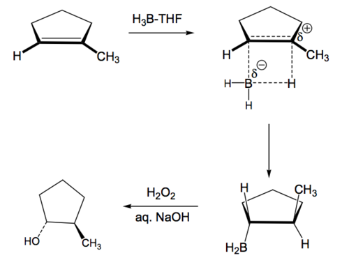 Scheme 5: General Mechanism of Hydroboration