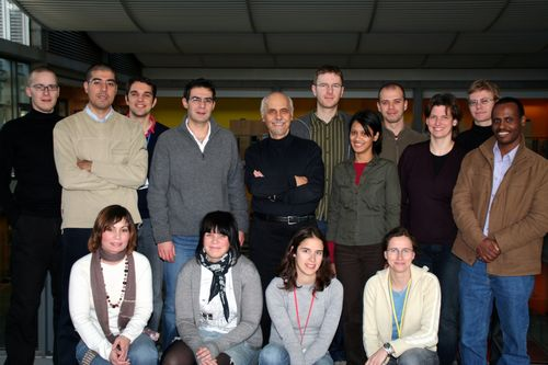 back (left to right): Timm, Mike, Tasos, George, Fotis, Bob, Rabeya, David, Kristin, Rob, Tib. front (left to right): Dina, Ellen, Sofia, Claudia. Missing: Amanda, Stephan, Antonio, Michael, Seth, Anna.