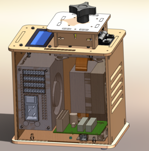 3D CAD image of Open PCR Machine