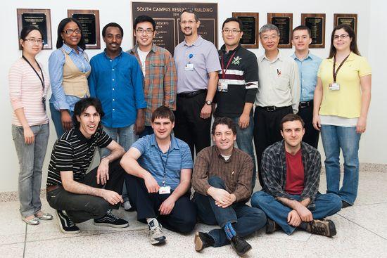 Lab photo - 2012