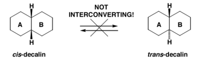 Scheme 9: cis and trans Decalins Don't Interconvert