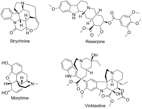 Scheme: Examples of Bioactive Small Molecules Produced by Pictet Spenglerases
