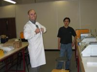 Our supervisors in the lab