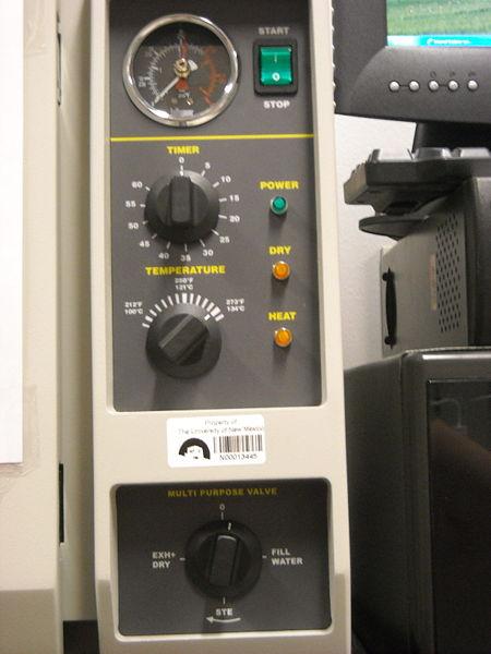 File:Autoclave Control Panel.JPG