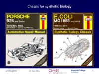 E.coli as a chassis