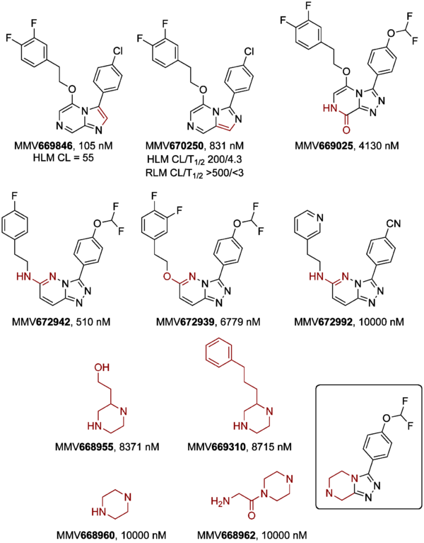 Core Modification of Triazine Ring