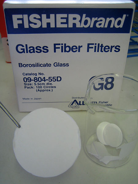 File:Fisher Glass Fiber Filter.jpg