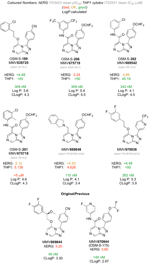 Cumulative hERG Data on Series 4 Compounds