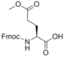 Fig. 63. (S)-2-((tert-butoxycarbonyl)amino)-5-methoxy-5-oxopentanoic acid