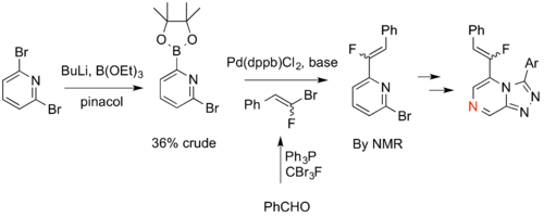Route Devised to Fluoroalkene Isostere of Amide