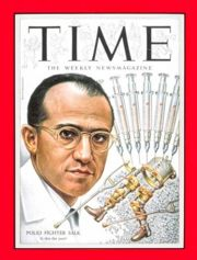 Jonas Salk/Time magazine cover