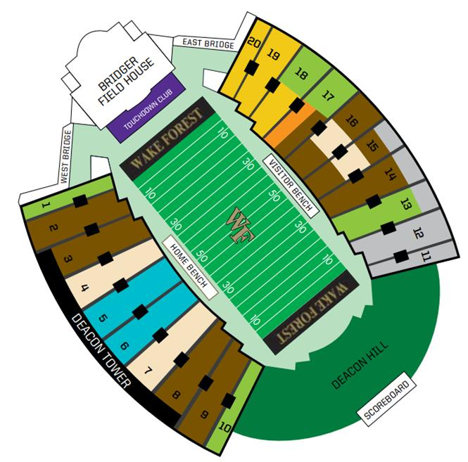 Wake Forest Online Ticket Office Utah State