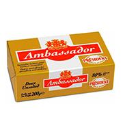 Manteiga Ambassador 200g Tablete S/sal