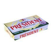 Manteiga President Tablete C/sal 125g