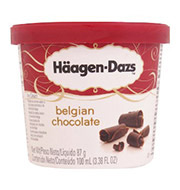 Sorvete Haagen Dazs De Chocolate Mini Cup 100ml