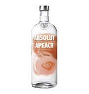 Vodka Absolut Apeach 1 L