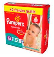Fralda Pampers G (26 Unidades)