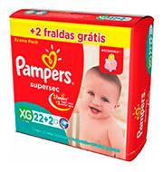 Fralda Pampers XG (22 Unidades)