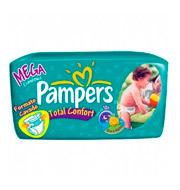 Fralda Pampers Total Comfort Pequeno