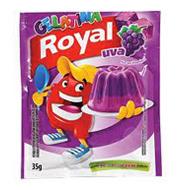 Gelatina Uva Royal 35 g