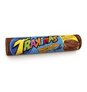 Biscoito Recheado Trakinas Chocolate 143g