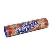 Biscoito Recheado Nestlé Bono Morango 140 g