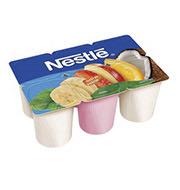 Iogurte Tri Sabor Nestlé 540g (6 unidades)