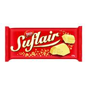 Chocolate em Barra Suflair Branco Nestlé 130