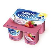 Iogurte Nestlé Grego Frutas Vermelhas 400g (4