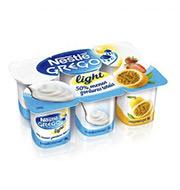 Iogurte Grego Nestlé Light Trad., Morango e M