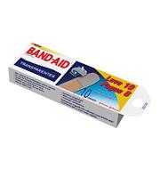 Curativo Band-aid Transparentes 10 Unidades