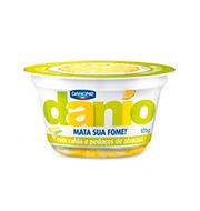 Iogurte Com Polpa De Abacaxi E Raspas De Limão Danio Danone
