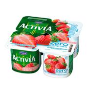 Activia Danone Morango 0% de Gordura 400g (4