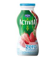 Activia Danone Liquido Morango Zero Gordura 1