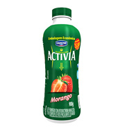 Activia Liquido Morango 900g