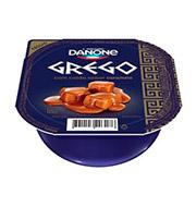 Iogurte Grego Danone Pera com caramelo Salgadinho