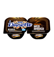 Danette Danone Chocolate Meio Amargo 220g (2