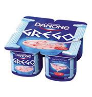 Iogurte Grego Danone Frutas Vermelhas 400g (4
