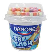 Iogurte Danito Danone Morango com Flocos de A