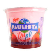 Iogurte Paulista Dupli com Geleia Morango 130