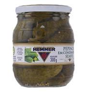 Pepinos Hemmer em Condimento Suave 300g