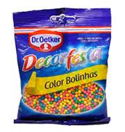Confeitos Dr.oetcker Color Bolinhas Oetker 80