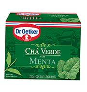 Cha Dr.oetker Verde Menta22,5g Caixinha