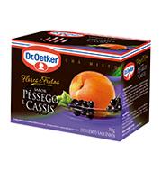 Cha Dr.oetker Flores E Frutas Pessego Cassis