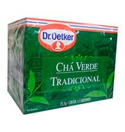 Cha Verde Dr.oetker Tradicional 17g Caixinha